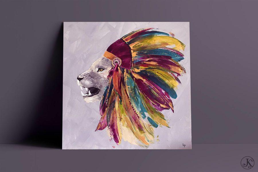 <span>Peinture</span>Black Elk