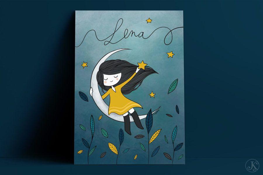 <span>Illustration</span>Léna